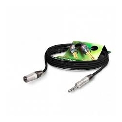 Cable XLR male Mini jack male 3m
