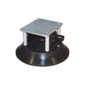 Ventouse à pompe 254mm poignée abs + plateforme alu. (79KG max)