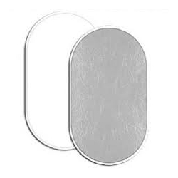 reflecteur lite disc oval 104x188cm