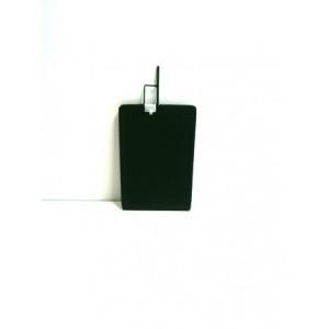 Drapeau noir Avenger 30x45