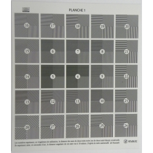 Mire PAT- kit de conformité de cadre (magnétique)