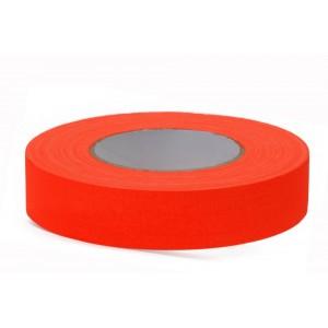 Adhésif Gaffer Fluo Orange 25mmx25m