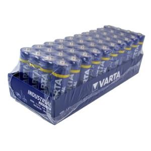 pack de 4 Piles alcaline LR06 Varta industrial 1,5V
