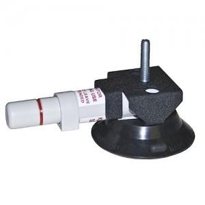 Ventouse à pompe 77mm monture polycarbonate (7KG max)
