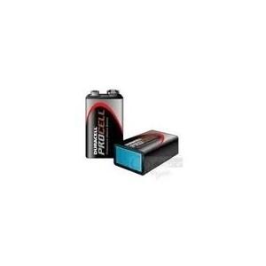 Pack de 10 piles alcaline 6LR61 9V Duracel Procell