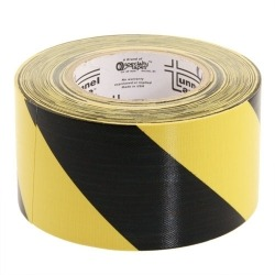 Tunnel Tape Slipway 100mm x 25m Jaune/Noir