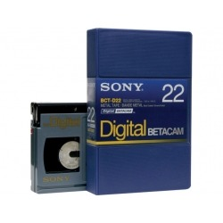 Cassette BETA DIGITAL 22mn PB