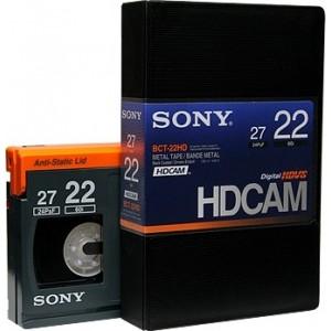 Sony - Cassette HDCAM 22