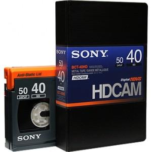 Sony - HDCAM 40 MN