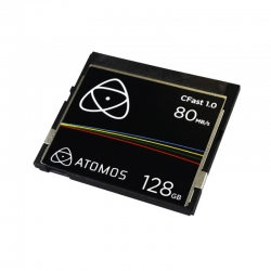 Atomos CFast 1.0 carte de stockage compact flash type 1 de 128 Gb