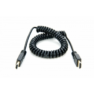 Atomos cordon spiralé HDMI vers HDMI de 50cm sur Paris