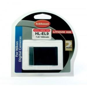Hahnel Batterie de type Nikon EN-EL9
