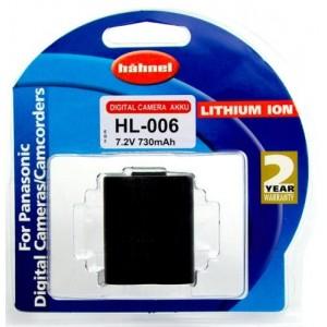 Hahnel Batterie de type Panasonic CGA-S006