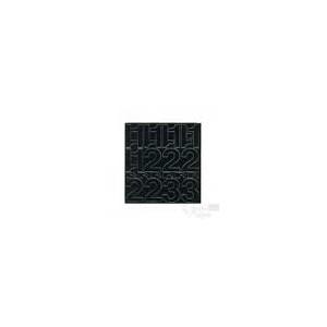 Agipa Lettres + symboles adhésives noir 75mm