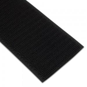 Velcro non-adhésif Mâle 50mm Noir au mètre