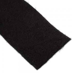 Velcro non-adhésif Femelle 50mm Noir au mètre