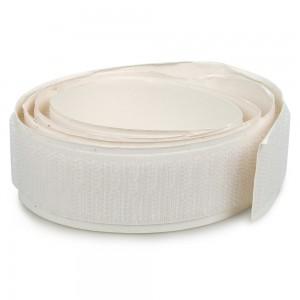 Velcro adhésif 25mm Blanc boucle et crochet au mètre