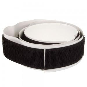 Velcro adhésif Mâle 50mm Noir