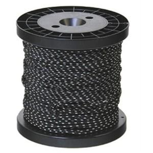 Drisse préetirée noire 4MM x 100m