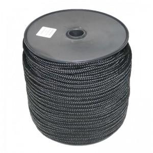 Drisse nylon noir 10mm x 100m