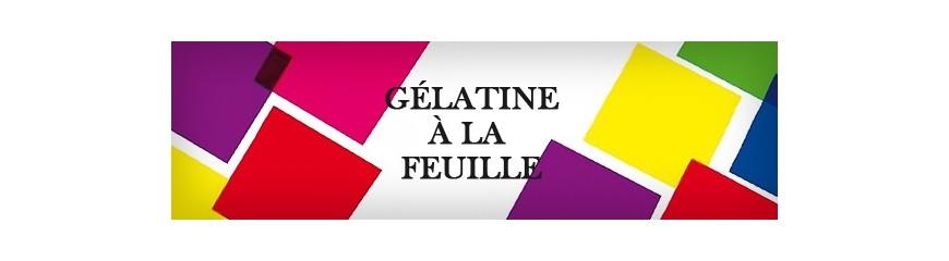 Filtres et Gelatines la feuille (60x120 cm)