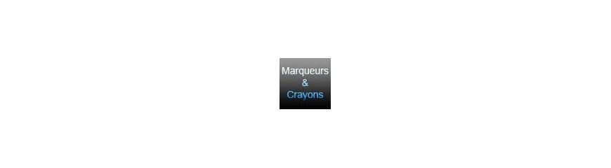 Marqueurs et Crayon gras