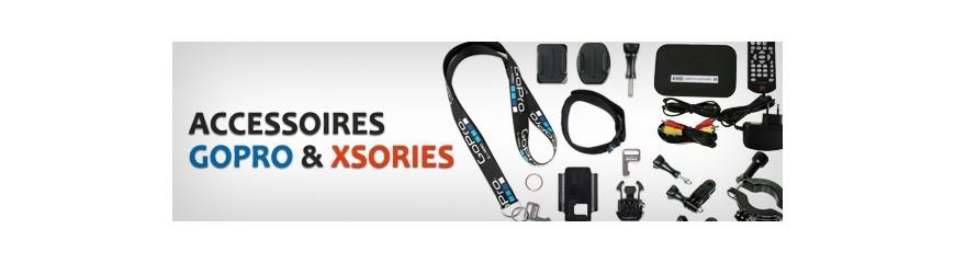 Accessoires GO PRO et XSories